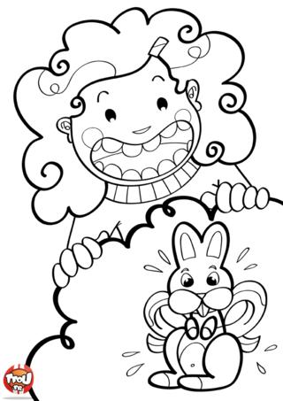 Coloriage : si toi aussi tu adores les lapins en chocolat pour la fête Pâques alors ce coloriage spécial Pâques est fait pour toi ! Imprime-le vite gratuitement sur TFou.fr et amuse-toi à le décorer selon tes goûts et tes envies. Tu pourras ainsi l'offrir à tes parents ou à ta famille le jour de Pâques ou l'utiliser pour décorer ta chambre. En l'imprimant gratuitement sur TFou.fr, tu gagnes gratuitement un maximum de points pour obtenir les badges de tes héros préférés sur TFou.fr !