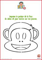 pochoir pour potiron - julius jr