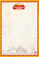 Papier à lettre Kung Fu Panda
