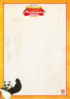 Papier à lettre Pô le panda