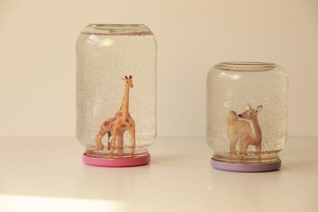 boule neige biche-girafe em13