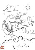 Lapin aviateur