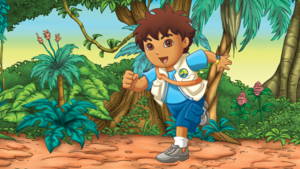 Diego dans la jungle