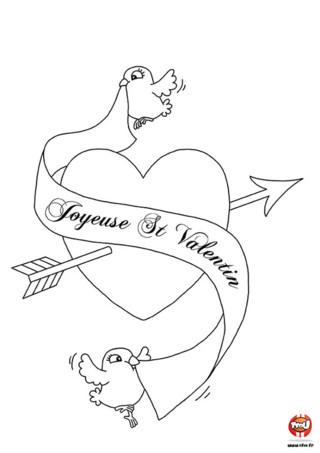 coloriages fetes saint valentin coloriage saint valentin 14 jpg quotes. Black Bedroom Furniture Sets. Home Design Ideas