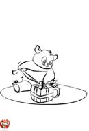 Petit panda a un cadeau