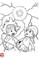 Digimon Taï & Sora