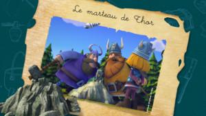 vignette carnet de bord Le marteau de Thor