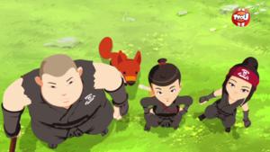 Clip digital 2min Mini Ninjas