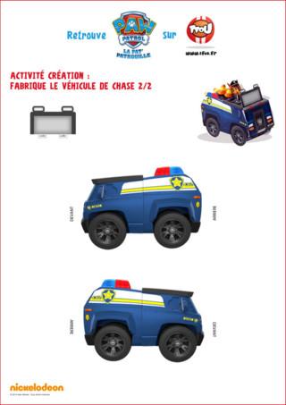 Voici la deuxième partie du paper toy de chase. Imprime les deux pages sur TFou.fr et amuse-toi avec ce membre de la Pat Patrouille. Sur TFou.fr, tu trouveras plein d'autres coloriages et activités gratuites à imprimer pour enfant !