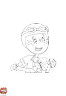 Zoé Kézako aviatrice