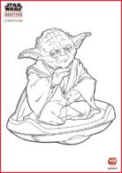 Coloriage - Maître Yoda