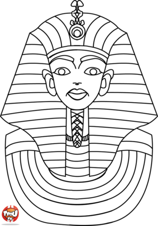 Coloriage: Pharaon