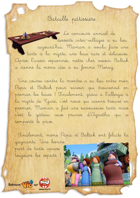 Carnet de bord vic_Bataille Patisserie_en ligne
