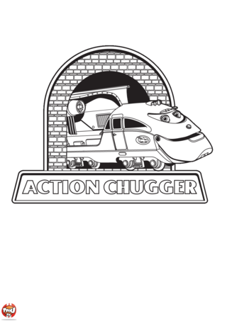 Coloriage: Action chugger