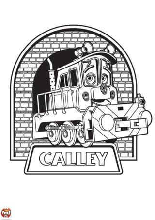 Coloriage: Calley
