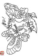 Papillons musiciens