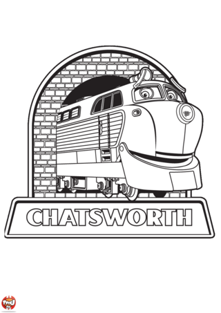 Coloriage: Chatsworth
