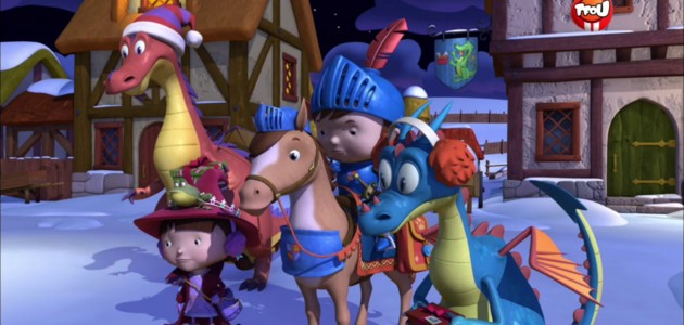 Mike le Chevalier joue l'apprenti Père Noël - Mike le chevalier
