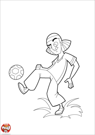 Coloriage: Dribble
