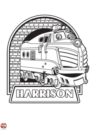 Coloriage: Harrison