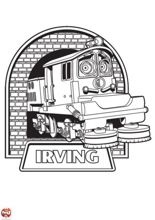 Coloriage: Irving