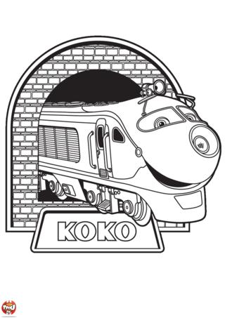 Coloriage: Koko