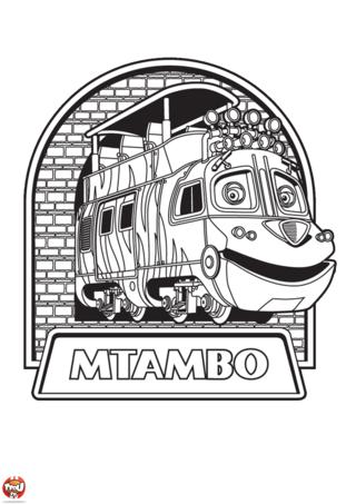 Coloriage: Mtambo