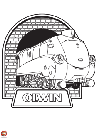 Coloriage: Olwin