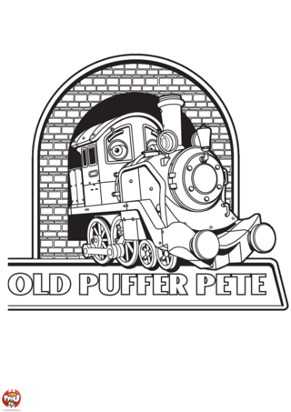 Coloriage: Pufferpete