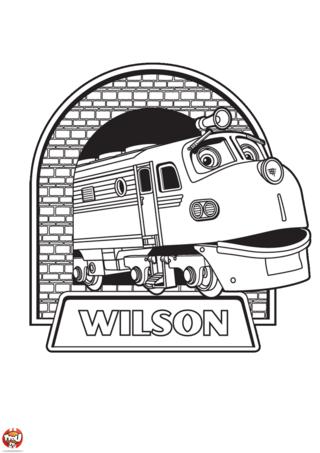 Wilson coloriages chuggington tfou - Chuggington tfou ...