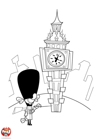 Coloriage: Big Ben