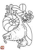 Escargot et bébé