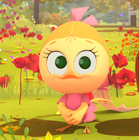 Visuel personnage Priscilla -calimero