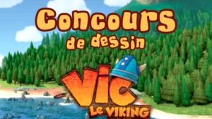 Concours de dessin Vic le Viking