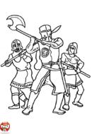 Chevaliers en guerre