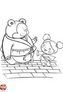 Judo avec un ours
