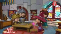 BA mike le chevalier et magie de noel