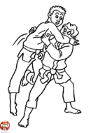 Enfants judokas