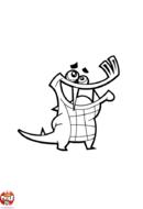 Crocodile qui rit