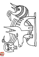 Dessins egyptiens