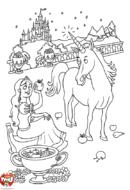 Fée et sa licorne