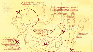 Carte salle secrète calimero