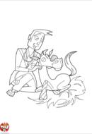 Vétérinaire et cheval