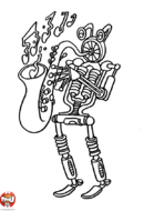Robot saxophoniste