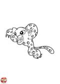 Panthère bondissante