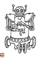 Robot et chat