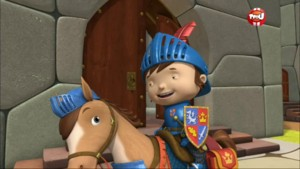 Mike le Chevalier doit retrouver la baguette d'Elvie - Mike le chevalier