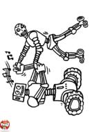 Robots qui dansent