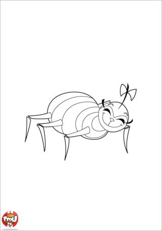 Coloriage: Araignée