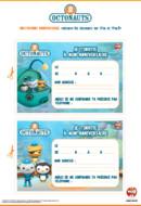 Activité-Cartes Anniversaires- les octonauts
